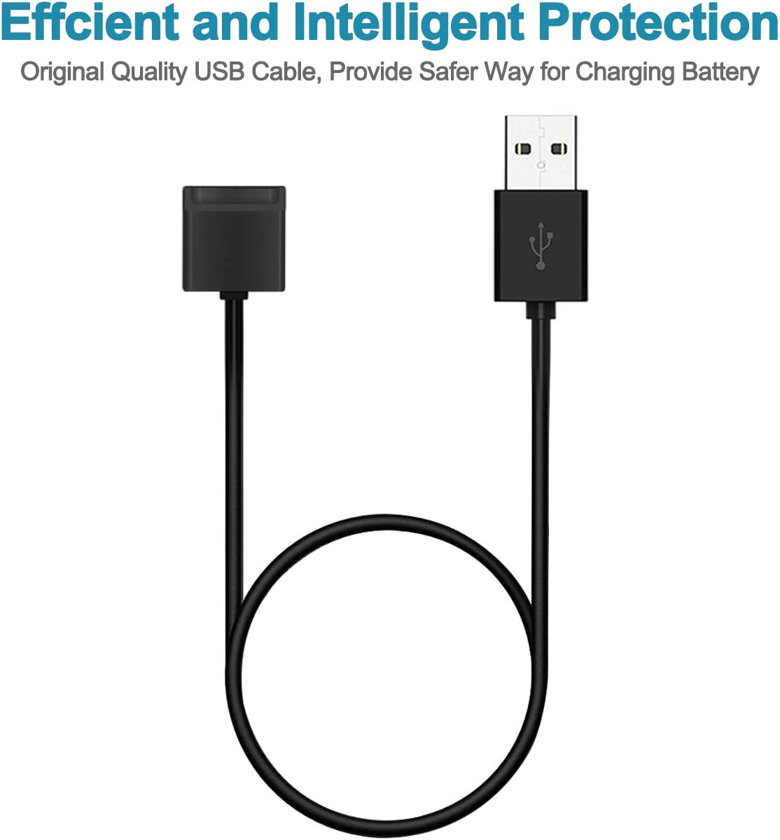 2.6 pies de Largo Cada uno Unokki JUUL Cargador USB magn/ético Cable de Carga r/ápida B07P7P4RQZ