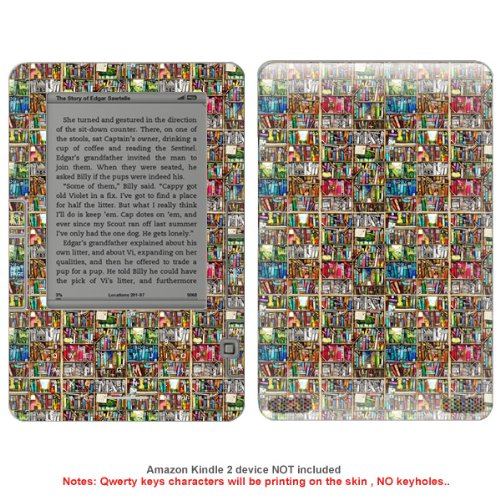 Decal sticker skin skins for Kindle 2 case cover NK_KDL2-510