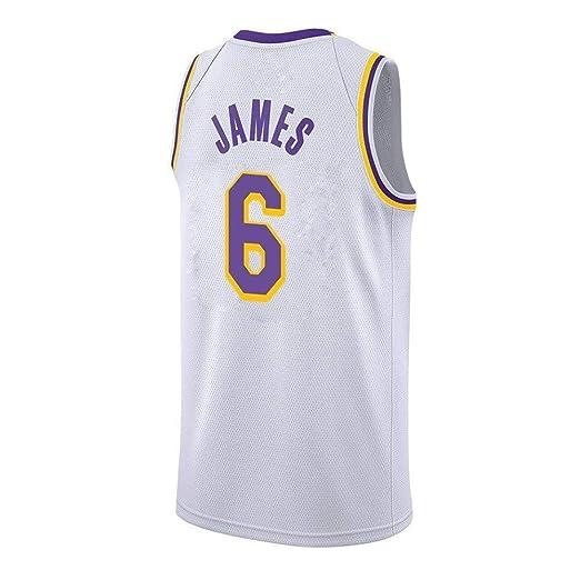 AKCHIUY Camisetas De Baloncesto para Hombre-NBA Lakers 6# James ...