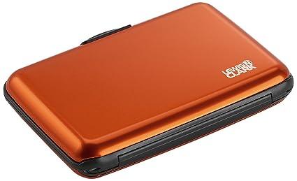 7da2fb478a6e Lewis N. Clark Rfid Aluminum Wallet, Orange, One Size