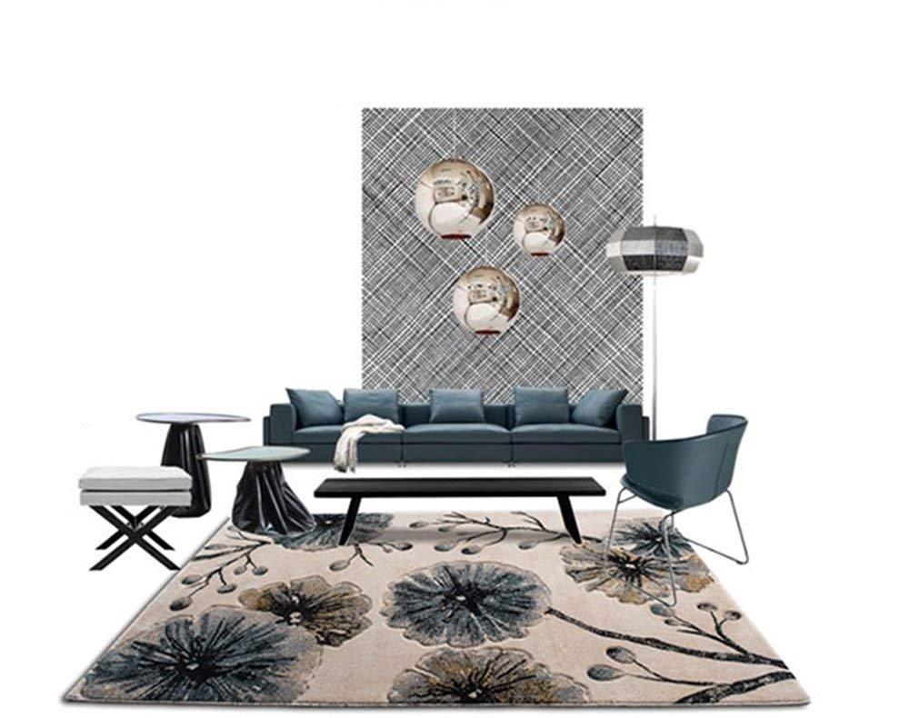 カーペット現代のシンプルなカーペットリビングルームビジネスヨーロッパのコーヒーテーブル毛布ソファコーヒーテーブルカーペット寝室のカーペット(80 * 150 CM) (サイズ さいず : 200*280CM) 200*280CM  B07PKF1X6G