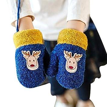 325eb018a5 Niedliche Fäustlinge Kleinkinder 1-3 Jahre Handschuhe Mädchen Jungen  Kinderhandschuhe warm dicke Fingerhandschuhe modisch Wollhandschuhe
