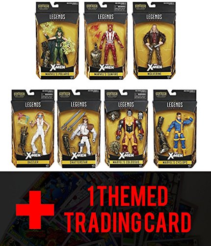 Tatooine Costume Luke (X-Men Warlock Marvel Legends 6-Inch Action Figures Wave 2 Set of 7 with Free themed)