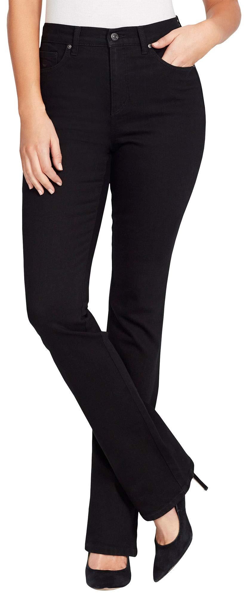 Gloria Vanderbilt Petite Amanda Boot Cut Jeans 16P Black