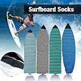 6'0''Surfboard Sock Cover 4Colors Light Protective Stretch Sock Bag for your Surf Board Pointed Nose