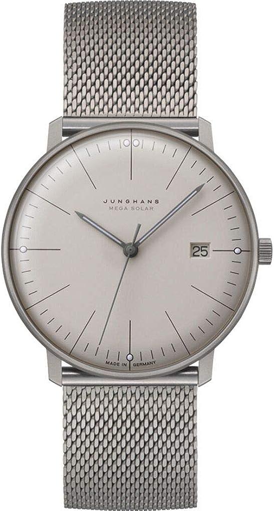 Junghans MAX Bill Mega Solar 059/2022.48 Reloj de Pulsera para Hombres