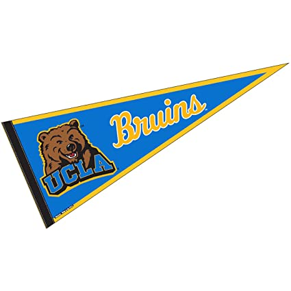 ad090edac78f8 Amazon.com : College Flags and Banners Co. UCLA Pennant Full Size Felt :  Sports & Outdoors