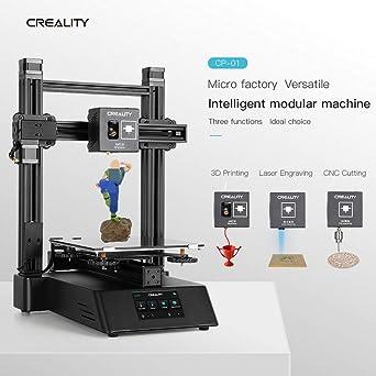 3 en 1 CP-01 3D impresora láser máquina de grabado CNC Router ...