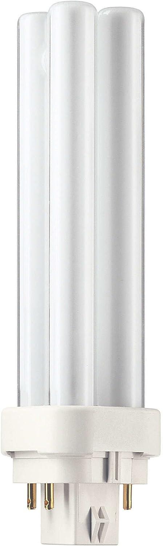 Philips Master PL-C 4 Pin Bombilla G24q-3 4, 26 W, 2700K Blanco ...