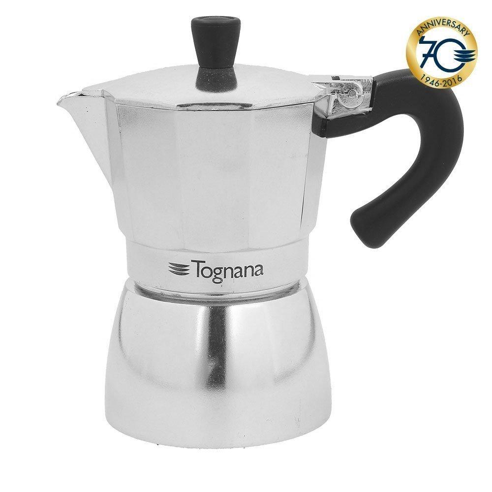 Acquisto TOGNANA CAFFETTIERA 1 TAZZA MOKA COFFEE STAR LINEA GRANCUCINA MIRROR IN ALLUMINIO AD ALTO SPESSORE – IDEALE PER PIANI A GAS, VETROCERAMICA, FORNELLO ELETTRICO, PIASTRA RADIANTE Prezzi offerta