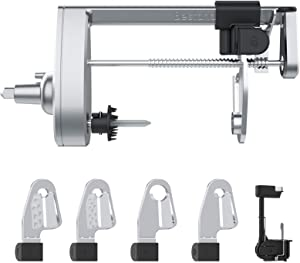 Bestand Spiralizer Attachment (5 Blades) Compatible with KitchenAid Stand Mixer, Comes with Peel, Core and Slice, Vegetable Slicer (Not KitchenAid Brand Spiralizer)