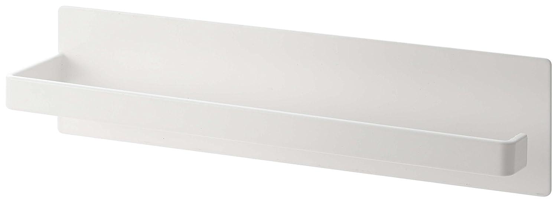 YAMAZAKI home Plate Magnetic Paper Towel Holder, White