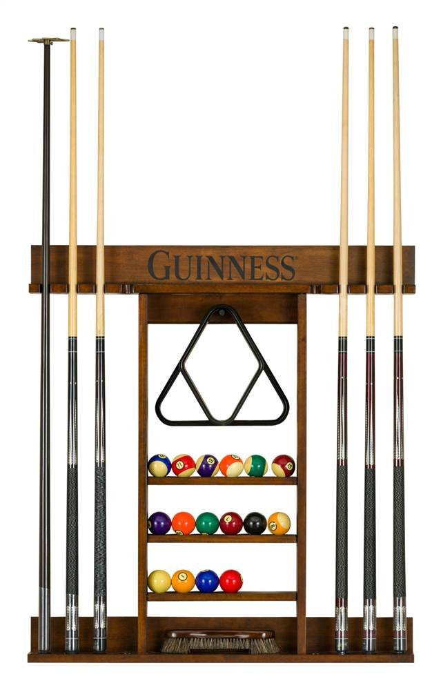 Guinness Pool Table Accessory Rack by American Heritage