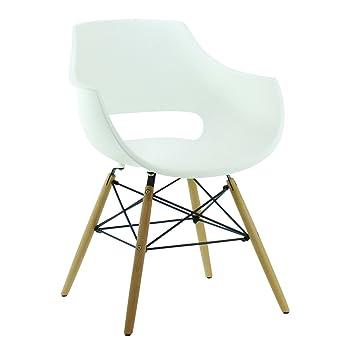 pn homewares chaise en plastique dinspiration rtro olivia eiffel