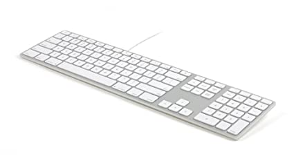 b270711e442 Amazon.com: Matias FK318S USB Wired Aluminum Keyboard with Numeric ...