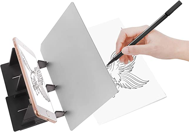 1 Piece Optical Copy Desk,Optical Draw Projector Painting Reflection Dimming Bracket