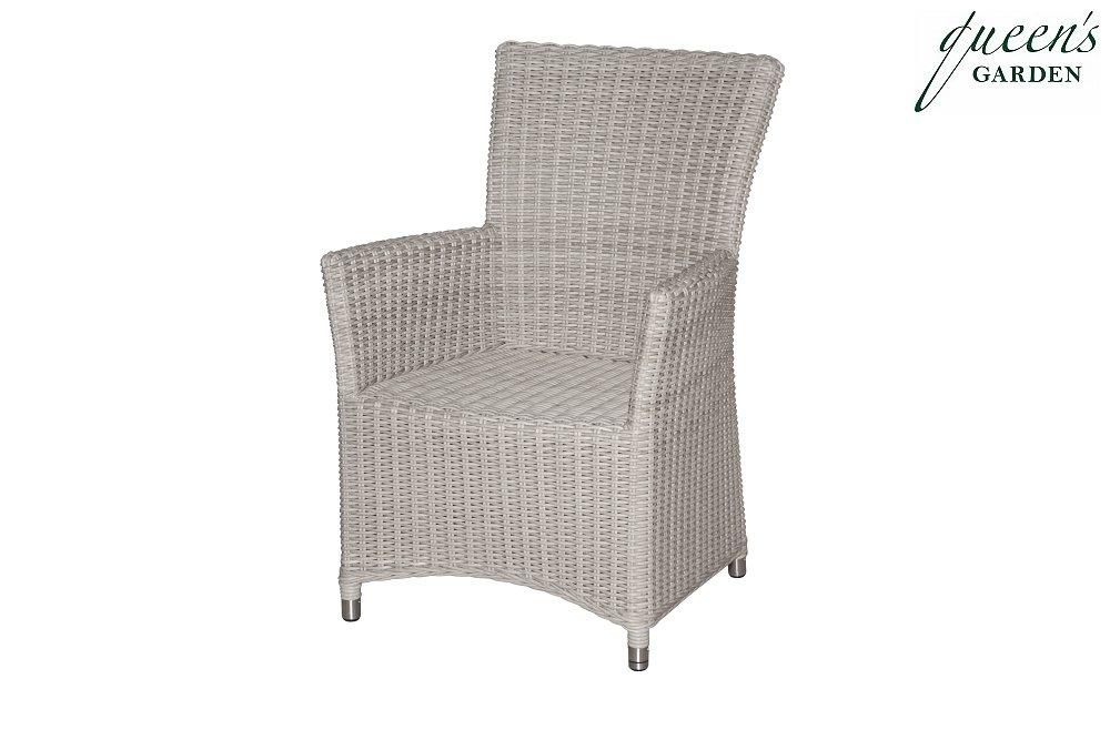 Queen´s Garden 721356 Modena Sessel Aluminium Gardino®-PRO white-shell