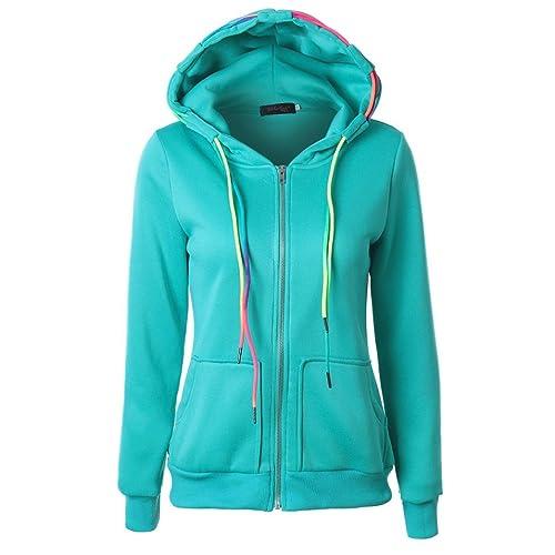 ropa de mujer otoño invierno abrigo chaqueta,RETUROM Más nuevo estilo mujeres con capucha cremallera...