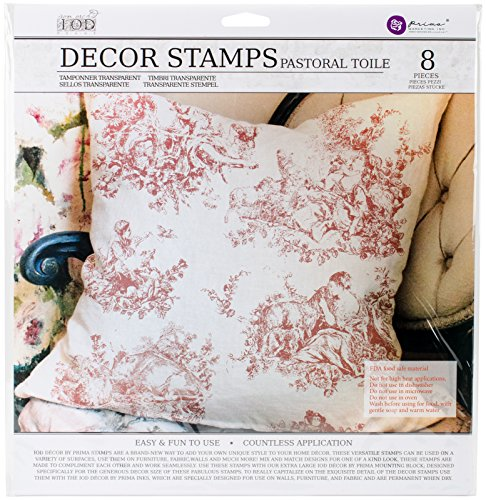 Prima Marketing Iod Decor Stamps-Pastoral Toile by Prima Marketing