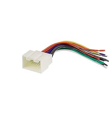 radio wiring harnesses | amazon com on audio wiring panel, audio wiring  accessories,