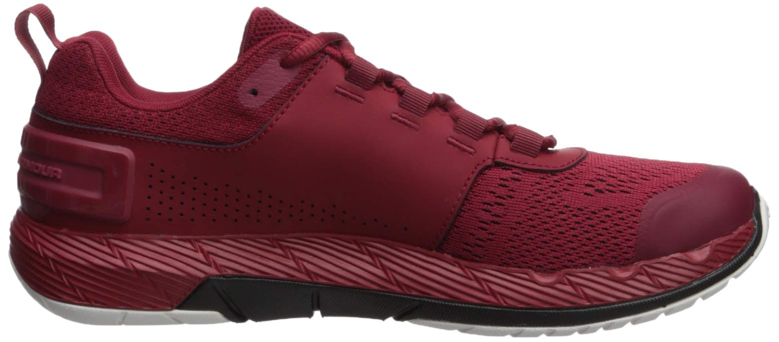 Under Armour Men's Commit TR EX Sneaker, Aruba Red (600)/Black, 7 M US by Under Armour (Image #5)
