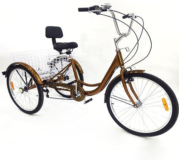 triciclo para adultos 6speed 24 3 Cilindro de personas mayores ...