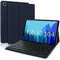 """Funda Teclado para Samsung Galaxy Tab A7 10.4"""" 2020, Español Ñ Teclado Bluetooth Inalámbrico Extraíble para Estuche…"""