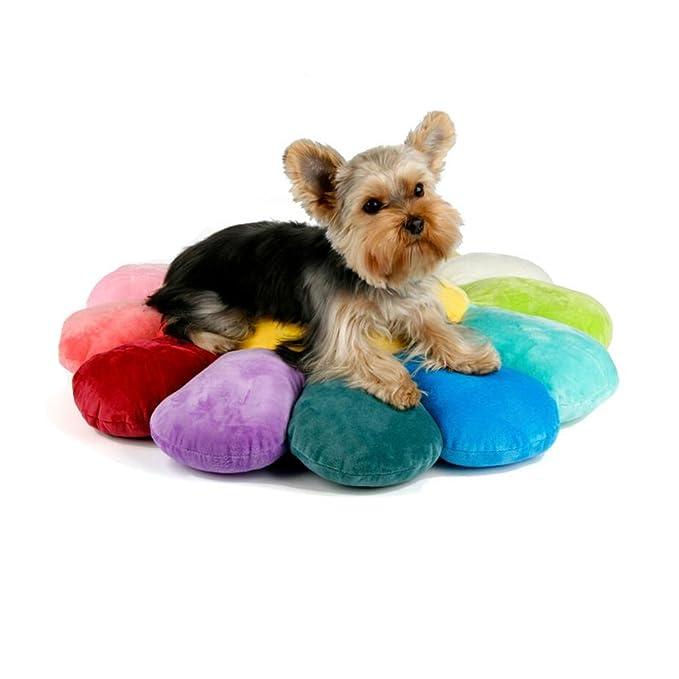 Dall Camas FS-682 Sol Coloreado Gatos Y Perros Cama para Mascotas Mascotas Cojín Forma Redonda Four Seasons Universal Esponja Suave Y Cómoda (Color : 003, ...