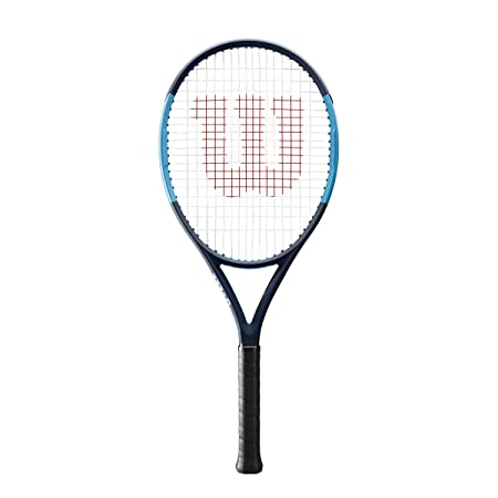 Wilson Ultra 26 Junior Tennis Racquet Strung Synthetic Gut Power in Custom String Colors