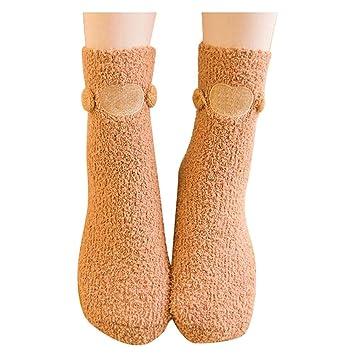 Black Temptation Calcetines Adultos para Dormir/Toallas Calientes Calcetines otoños/Largos para Invierno/
