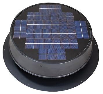 sc 1 st  Amazon.com & Ultra Low-Profile 24-watt Natural Light Solar Attic Fan - - Amazon.com