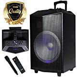 Best EMB Sound System For Homes - 1500W 15 inches Power Party Bluetooth / USB Review