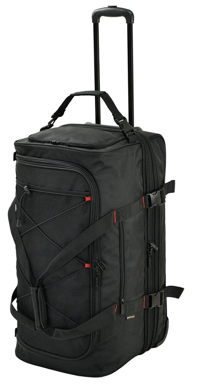 キャリーバッグ メンズ 大容量 100L ボストンバッグ 2WAY トロリーボストン 2室式 軽量 ビジネスバッグ   B07CNS3BDC