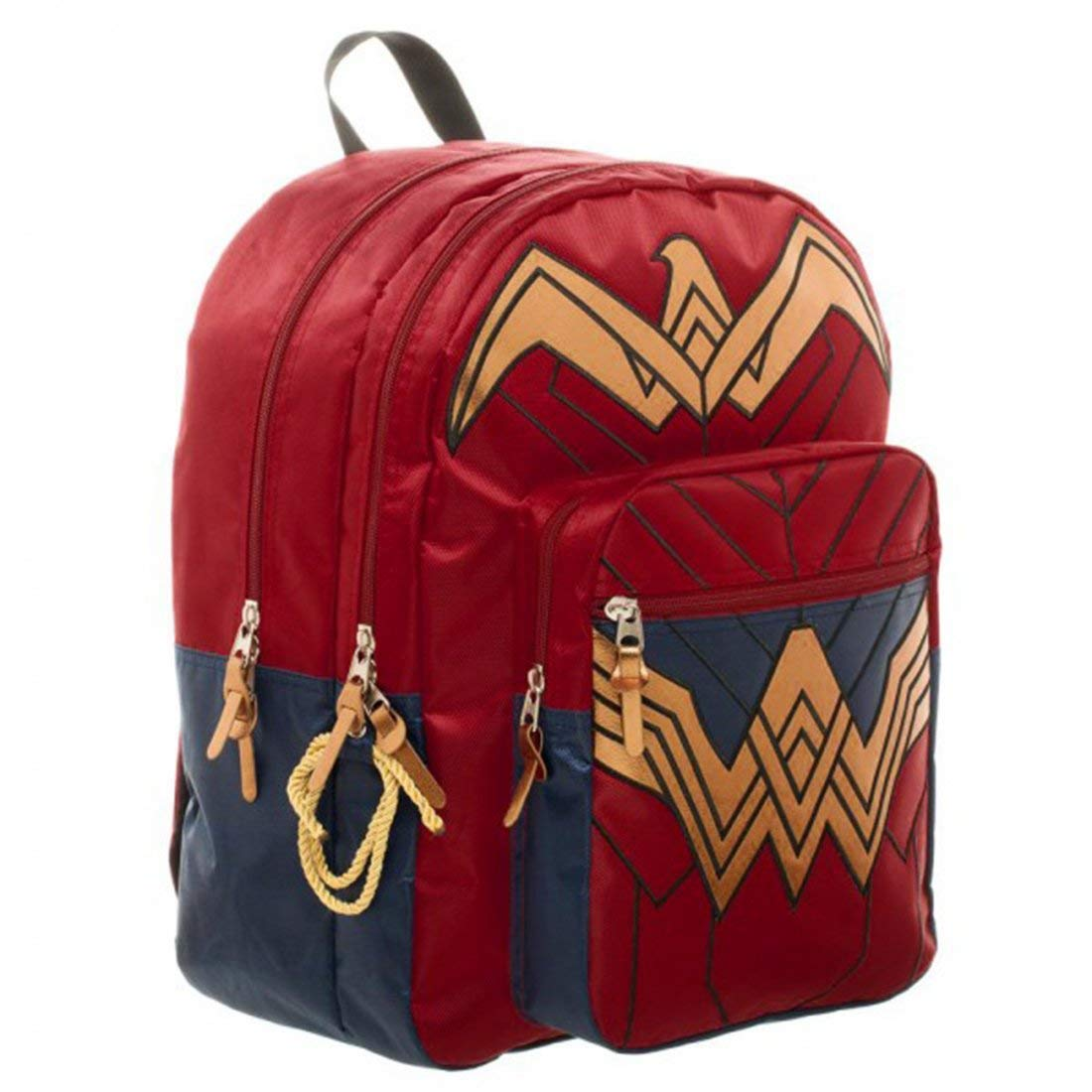 efe8f30d800 Amazon.com: Dawn of Justice Wonder Woman Backpack 18 x 19in: Toys & Games