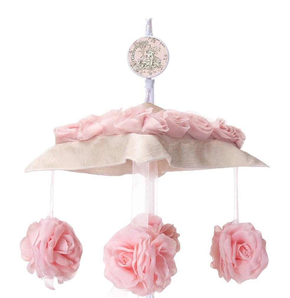 Glenna Jean Maddie Brahms' Lullaby Musical Mobile, Pink 16933