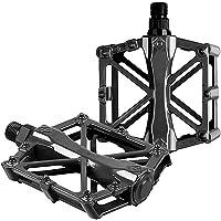 Hydra X Pedales de Aluminio para Bicicleta, 2 Piezas. Pedales para MTB, BMX, de Carretera, de Montaña o Urbana, Eje…