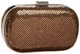 Whiting and Davis 1-5721 Minaudiere,Bronze,one size, Bags Central