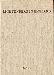 Lichtenberg in England (German Edition)