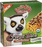 Nature's Path Organic - EnviroKidz Organic Crispy Rice Cereal Bars Lemur Peanut Choco Drizzle - 6 Bars by Nature's Path