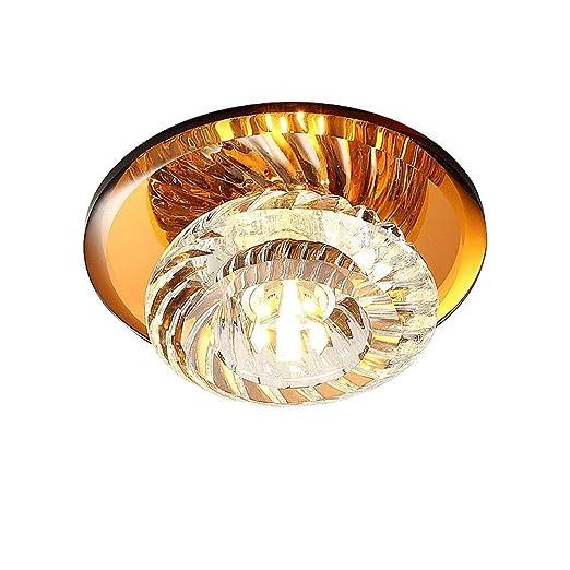 IGLZ Lámpara de Techo LED de Cristal Elegante Instalación de ...
