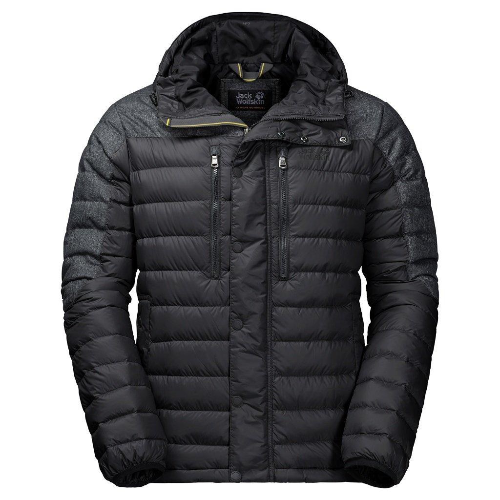47e1f36a3f Jack Wolfskin Richmond Jacket black 2017 winter jacket: Amazon.co.uk:  Clothing