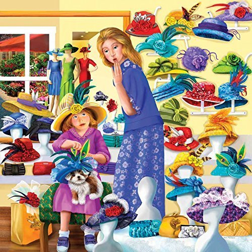 Rosie's Hat Hat Rosie's Shop a 500-Piece Jigsaw Puzzle by Sunsout Inc. by SunsOut 65f6e6