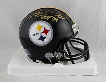 574c6f762 Rod Woodson Signed Mini Helmet - HOF W Auth  Gold - JSA Certified -  Autographed