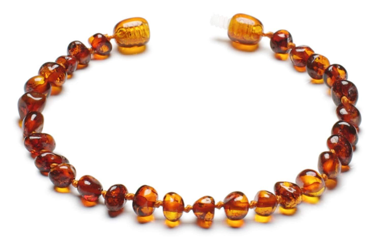 iLikeAmber.com Baltic Amber Bracelet BBr16.5-CGN.P-BRQ_UK06.14