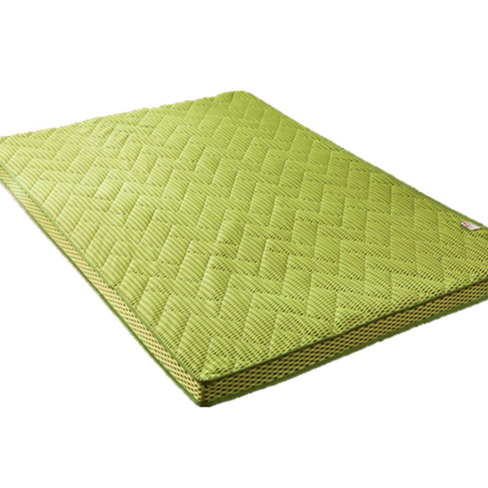 A 150x200cm(59x79inch) Premium Thick Tatami Mattress,Foldable Breathable Mattress Japanese Traditional Futon Mattress Comfortable Nap Mat-e 150x200cm(59x79inch)