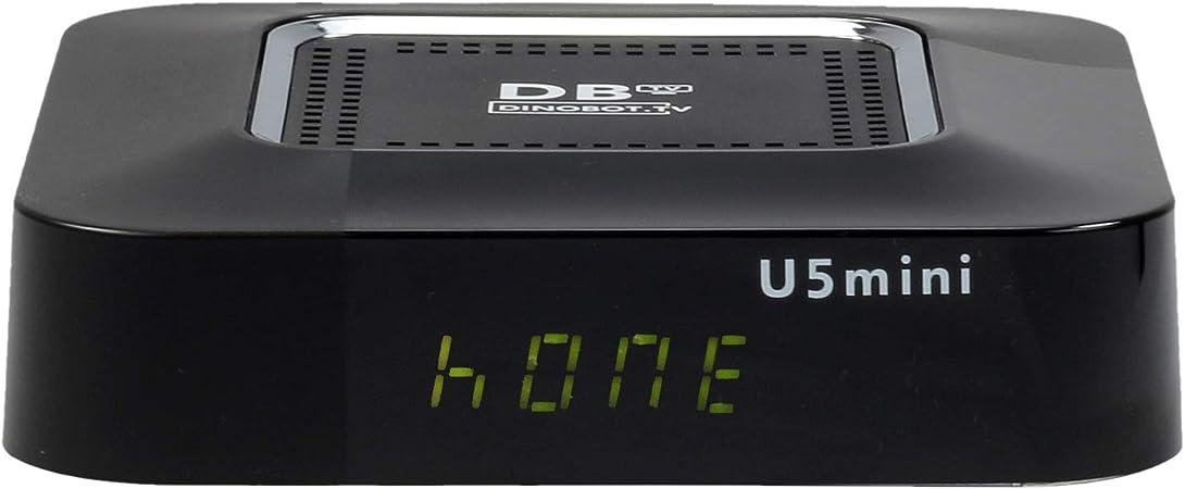 Dinobot U5mini 4K E2 Linux//AndroidTV 7.0 HDR 2.4//5GHz Wlan Bluetooth DVB-S2X