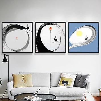 Wohnzimmer-Sofa dekorative Wandbemalung Wandmalereien der nordischen ...