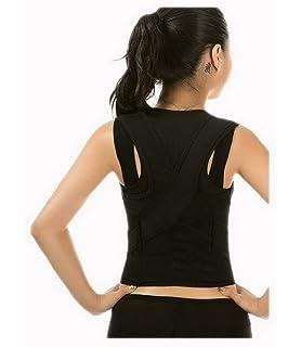 Acme Mujer Hombre Niños ajustable recta plana Corrección de postura espalda plana - Faja deportiva para