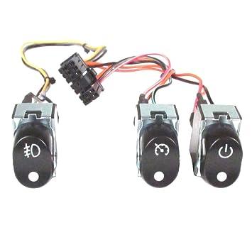 V-Factor Black Backlit Cruise-Accessory-Spot Light Fairing Switches