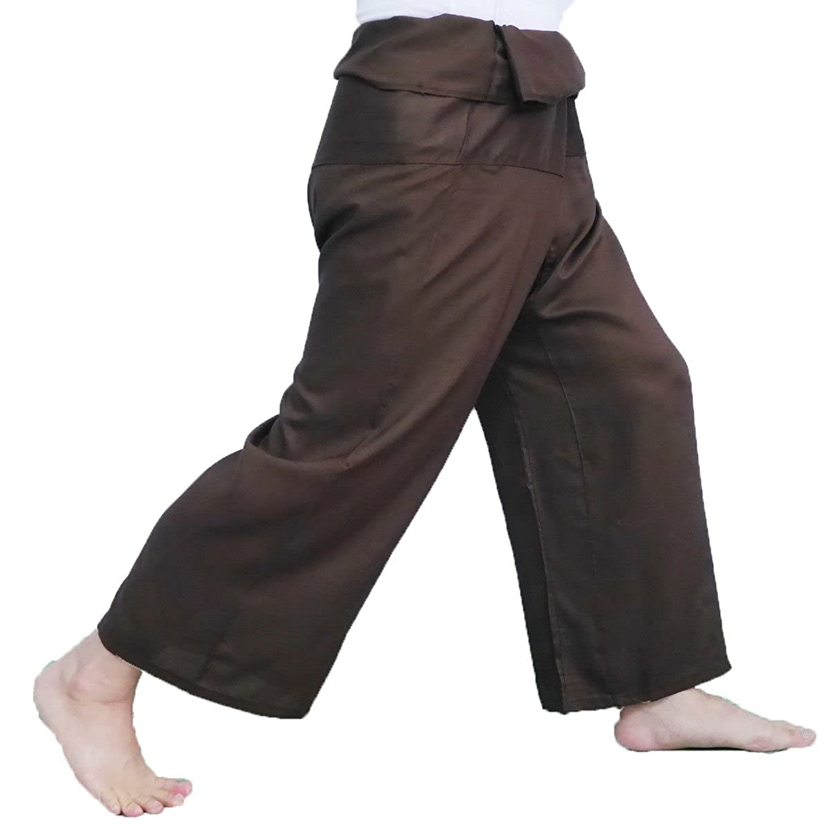 Brown Thai Massage Pants Thai Fisherman Pants yoga summer beach pants
